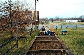 railroad tie garden railroad tie raised bed