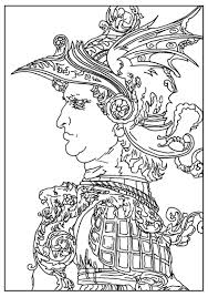 Small Picture Master pieces Coloring pages for adults JustColor