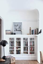 wall bookcase with glass door white bookcase with glass doors bookcase with glass doors