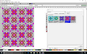 Test Drive: Quilt-Pro V6 Quilt Design Software Â« Generation Q Magazine & And now with an alternate block added. Adamdwight.com