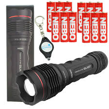 Lumintrail Keychain Light Nebo Redline V 500 Lumen Flashlight Bundle With A Lumintrail