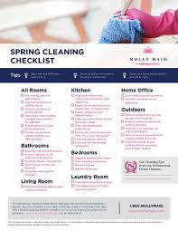 cleaning schedule printable spring cleaning list spring cleaning checklist printable