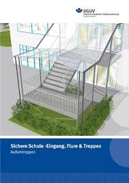 Was im treppenhaus stehen darf und was nicht. Sichere Schule Eingang Flure Treppen