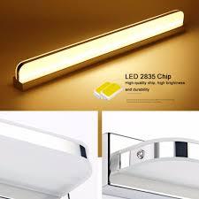 Badkamer Spiegel Lamp Lampjes Spiegellamp Praxis Verlichting Led