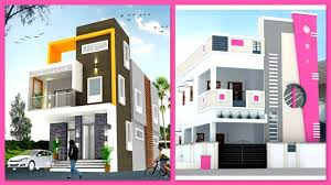 Elevation Design Photos Residential Houses Modern Two Storey House Front Elevation Designs Two Floor