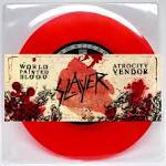 World Painted Blood/Atrocity Vendor album by Slayer
