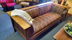 custom sofas sectional and leather couches custommade com amish bench built wood mission sofa home amish built home office