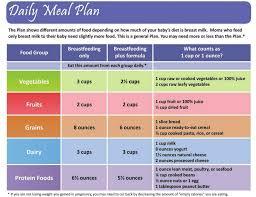 Lactation Diet Chart 25 Hand Picked Breastfeeding Mom Diet Chart