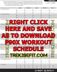 p90x workout schedule pdf