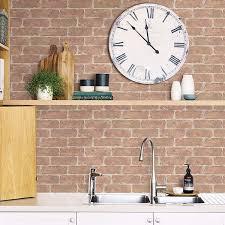 old town brick l stick wallpaper