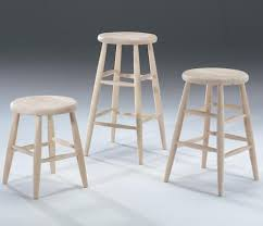unfinished bar stools. Unfinished Bar Stools W