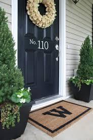 front door decorationBest 25 Front door decor ideas on Pinterest  Letter door wreaths