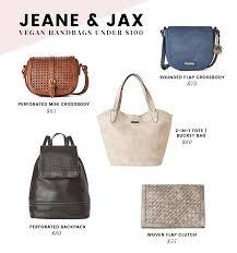 jeane jax vegan handbags