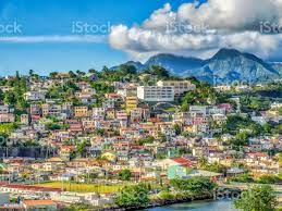 Capital City Of Martinique Viewed ...
