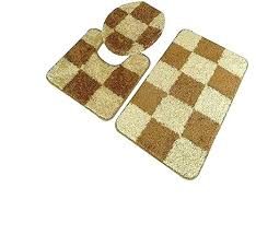 gold bathroom rug sets gold bath mat avenue 3 piece checd bathroom rug set contour and