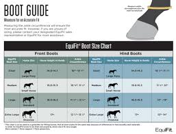 Bell Boot Size Chart Equifit Bell Boot