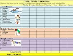 Free Printable Quality Exercises Charts Ball And Knee
