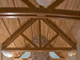 red maple heavy timber trusses