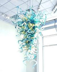 chandeliers chihuly style chandelier glass for dale chi