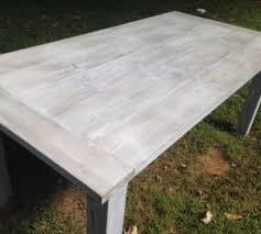 whitewash outdoor furniture. WHITEWASH FARM TABLE Whitewash Outdoor Furniture