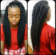 Twist Braids Hair Style chunky senegalese twists protective hair styles can be styled 5845 by wearticles.com