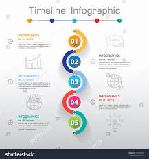 Power Point Time Line Template Timeline Vector Infographic Download