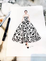 Pinterest Fashion Design Sketches Adelineleeuw Fashion Illustration Dresses Fashion Design