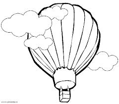 Ballonvaren Met De Luchtballon Plaatjes Knutsels Kleurplaten
