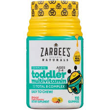 Zarbee's Naturals <b>Toddler Complete Multivitamin</b> Easy Chew ...