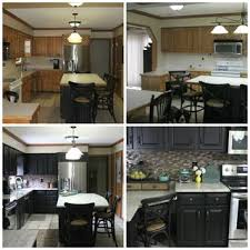 painting kitchen cabinets black before and after. so in exin magazine, today we present few ideas to paint your kitchen walls and the cabinets as well set a moody hue an ideal way create cozy painting black before after