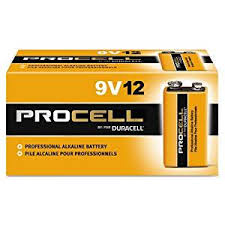 Amazon.com: Duracell Procell 9 Volt Batteries, Pack Of 12: Health ...
