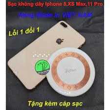 Đế sạc nhanh không dây Protec Iphone 8,8 Plus,X,XS,11,11 PRO....Tặng kèm  cáp sạc - Đế sạc không dây Nhãn hàng No Brand