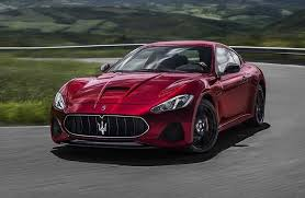 2018 maserati coupe. contemporary 2018 red 2018 maserati granturismo front exterior on country road in maserati coupe