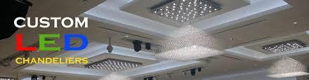 custom made modern led chandeliers