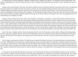 argument essays on oedipus the king essays on literature essay on oedipus the king by sophocles