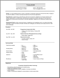 A Perfect Resume Example Custom Example Of A Perfect Resume Free Resume Templates 48
