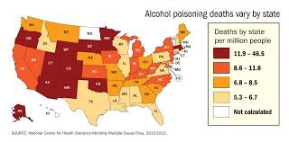Mine Die Americans 6 Every Day Data Us From Poisoning Alcohol News