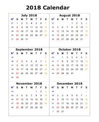 one page calender 6 month one page calendar 2018 calendar 2018