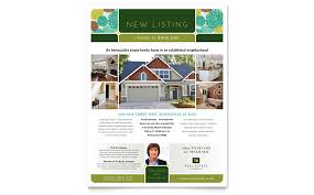real estate flyer templates real estate flyer template word publisher