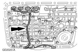 ranger automatic transmission the valve body shifting solenoid graphic