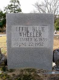 Effie Blue Wheeler (1859-1952) - Find A Grave Memorial