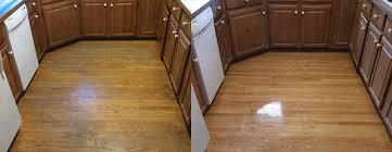 before and after shown hardwood floor refinished before and after shown
