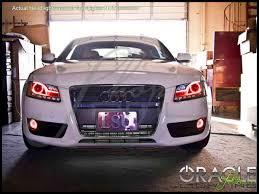 Audi A5 Fog Light Bulb Size Oracle 07 14 Audi A5 Led Halo Rings Headlights Bulbs