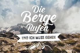 Der Berg Ruft Originelles Wander T Shirt Mit Druck Gestalten