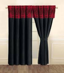 Top Red Black And White Bedroom Curtains In Home Decor Arrangement ...