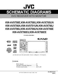 jvc avx830 wiring diagram jvc image wiring diagram jvc kw avx700e u un a avx701u n avx706j u un e eu ee sch service
