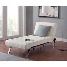 Living Room Chaise Emily Futon Chaise Lounger Multiple Colors Walmartcom
