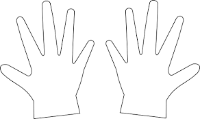 Child Hand Template Clipart Images Gallery For Free Download