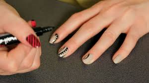 How to Do a Tattoo Nail Art Design | Howcast - The best how-to ...