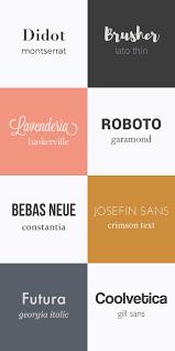 214 Best Font Combos Images On Pinterest Font Combinations Font